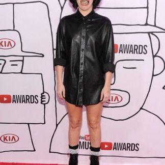 Black Shirt for Girls Celebrity Dresses Tops for Girls