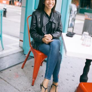 Light Leather Jacket Womens