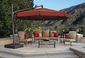 outdoor umbrella repair service