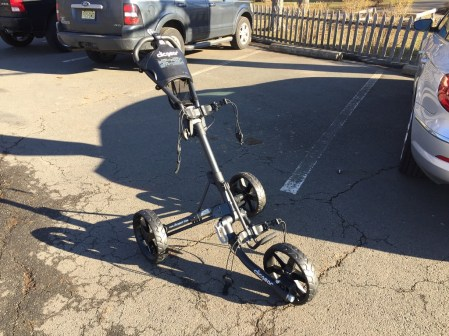 Opened Clicgear 3.5+ push cart