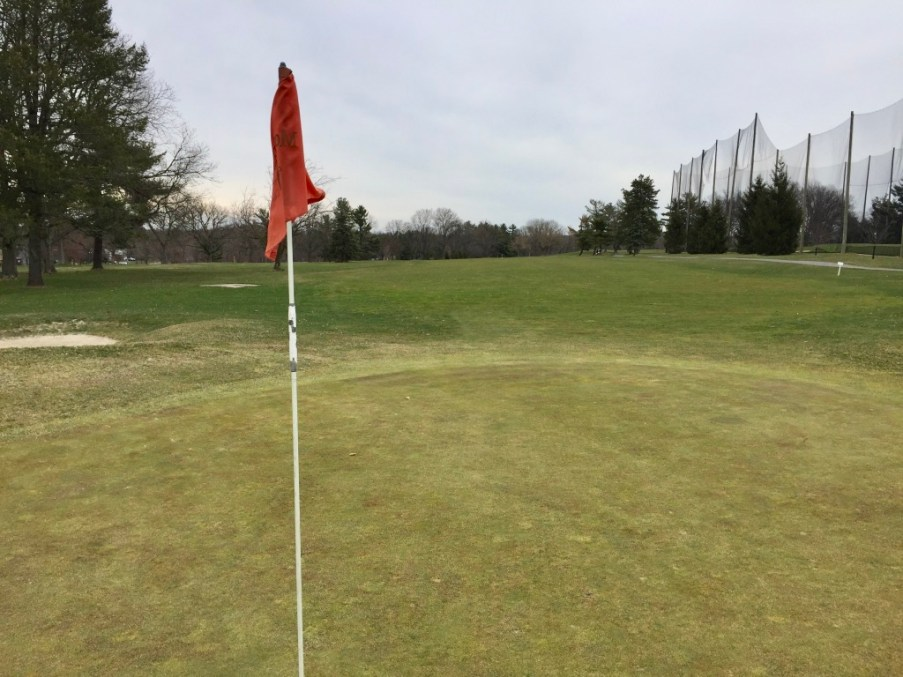 18th hole reverse view