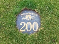 200 Yard Marker