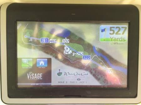 In cart GPS