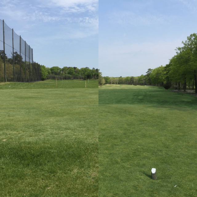 Play Course on Driving Range