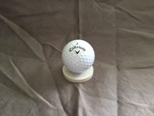 FlatBall is same diameter as normal golf ball.