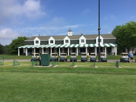 Clubhouse and pro shop of Centennial Golf Club.