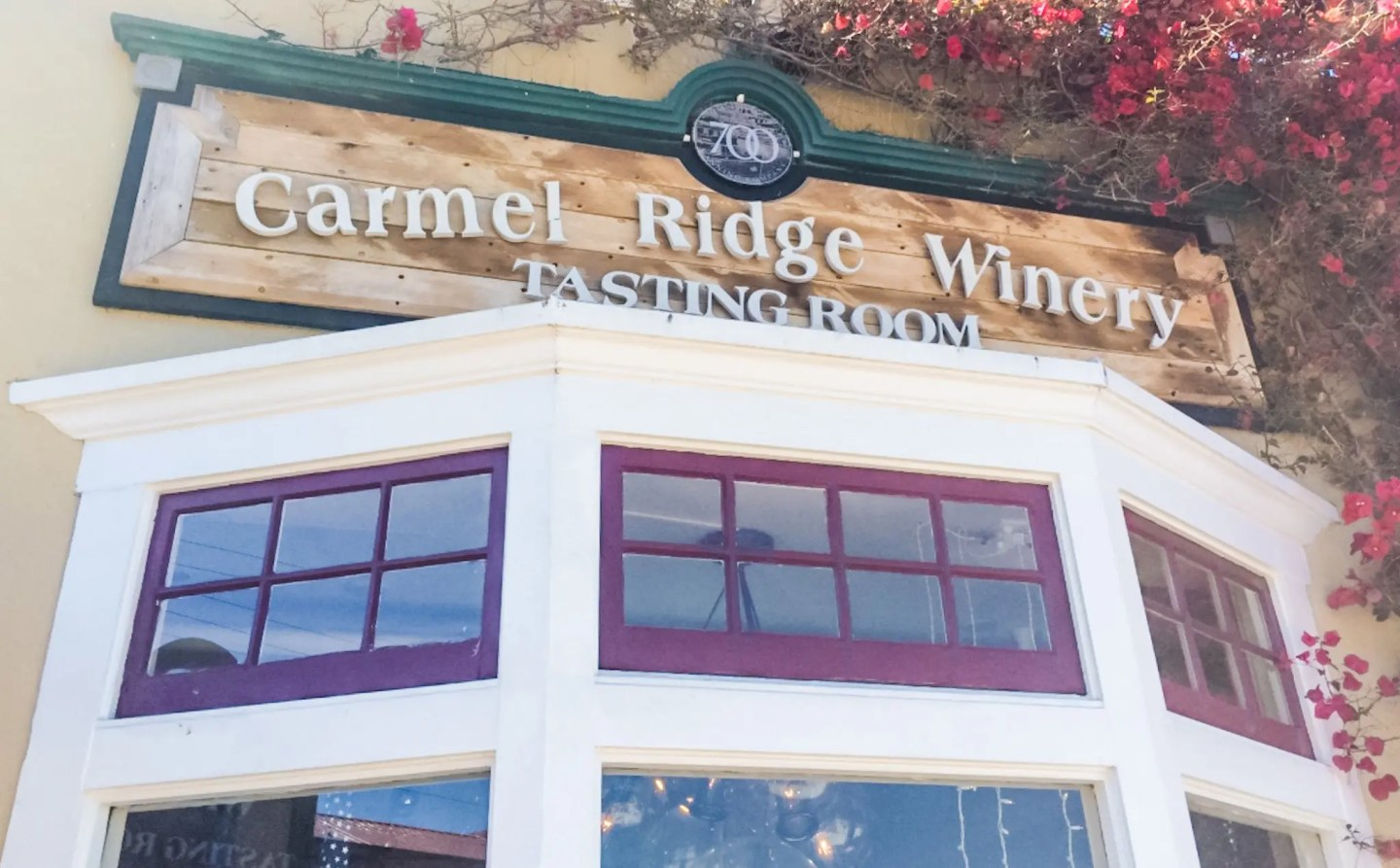 Wine tasting at Carmel Ridge Winery in Monterey. Perfect way to spend the afternoon on day one of our California road trip!