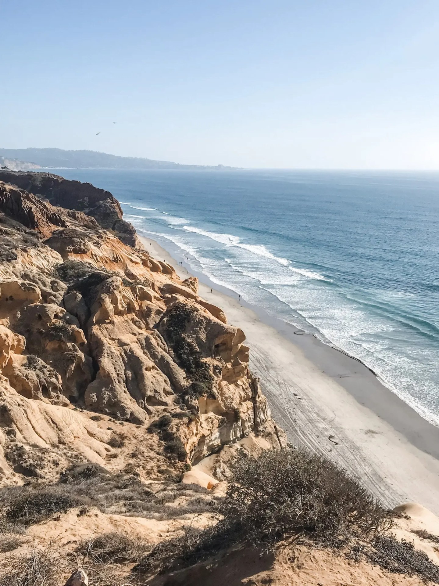 The best part of our California Road Trip to San Diego - the views from Torrey Pines State Reserve in San Diego.