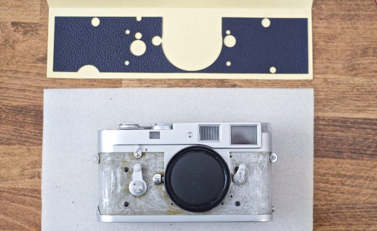 Leica M2 Vulcanite Replacement 3