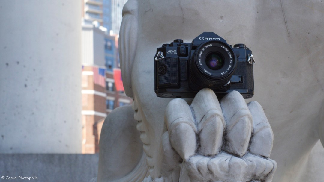 Canon A-1 Camera Review 9