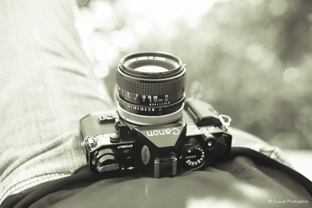 Canon AE-1 vs Canon AE-1 Program Camera Review 3