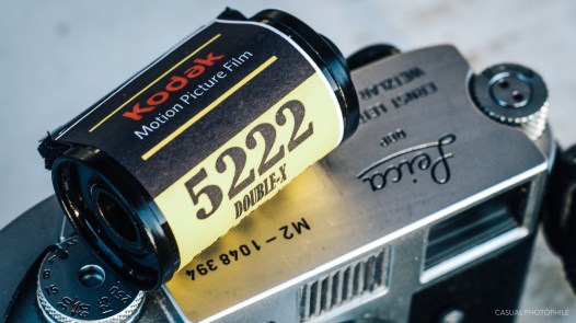 eastman kodak double X 5222 film review products-1