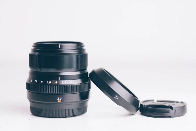 Fuji XF 23mm F-2 lens product phtoos-1