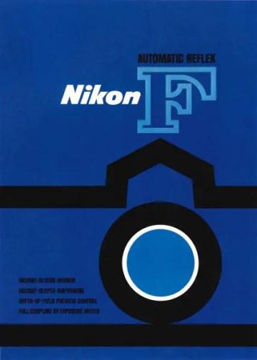 Nikon F poster