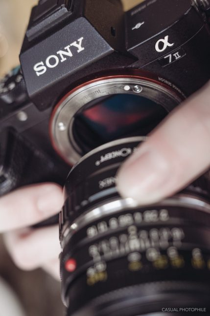 Lens detached for Freelensing