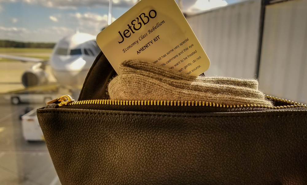 Jet&Bo:Adding a Touch of Luxury to Economy Class-Plus a Giveaway!