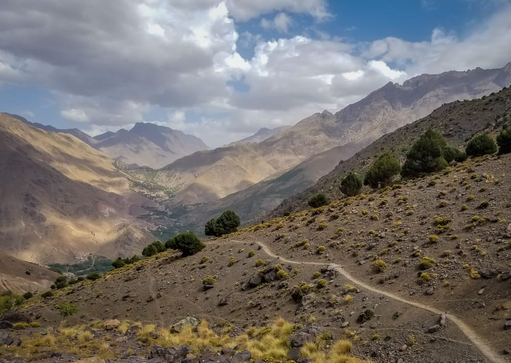 Discovering the Atlas Mountains in Morocco at Kasbah du Toubkal