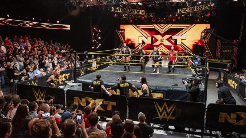 small crowd in nxt