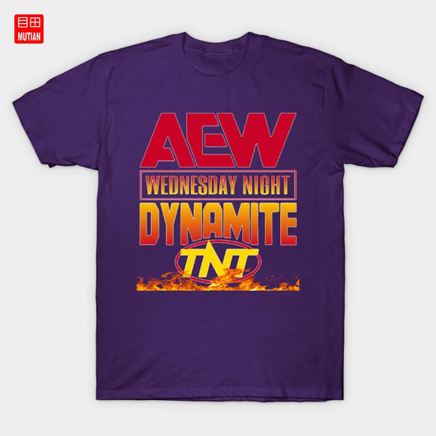 AEW Dynamite Tshirt designed like WCW Monday Nitro