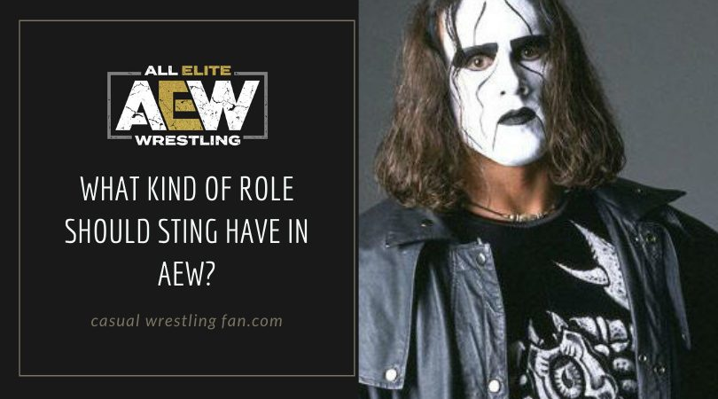 What kind of role should Sting have in AEW