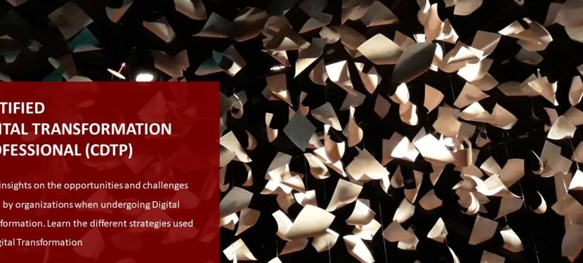 Certified Digital Transformation Professional (CDTP)