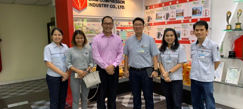 Thank you Siam Compressor Industry (SCI) in Pattaya, Thailand