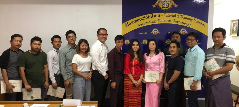 Congratulations to all participants for successfully completing the first ever Certified Digital Transformation Professional (CDTP) in Yangon, Myanmar