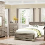 Beechnut Collection Bedroom Set Light Brown Finish Casye Furniture