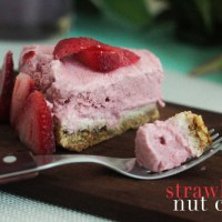 Strawberry Nut Cake