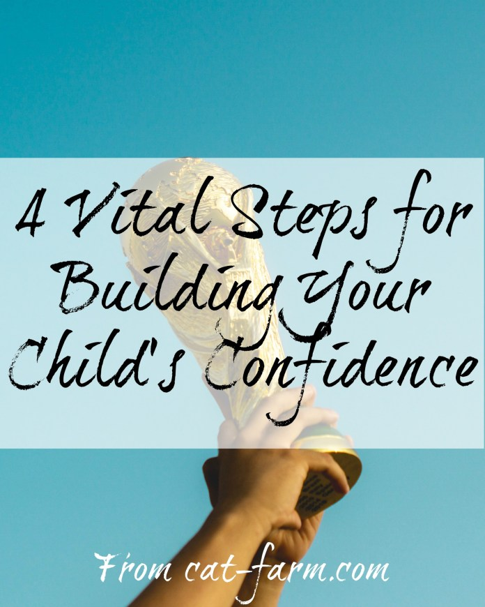 building your child's confidence