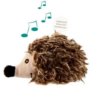 juguete para gatos 7019 gigwi melody cat toy erizo con sonido