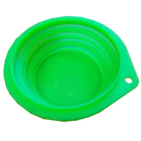 bowl plato de silicona para mascotas para viaje