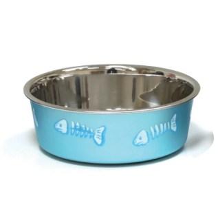 plato para gatos perros mascotas acero inoxidable peru croci