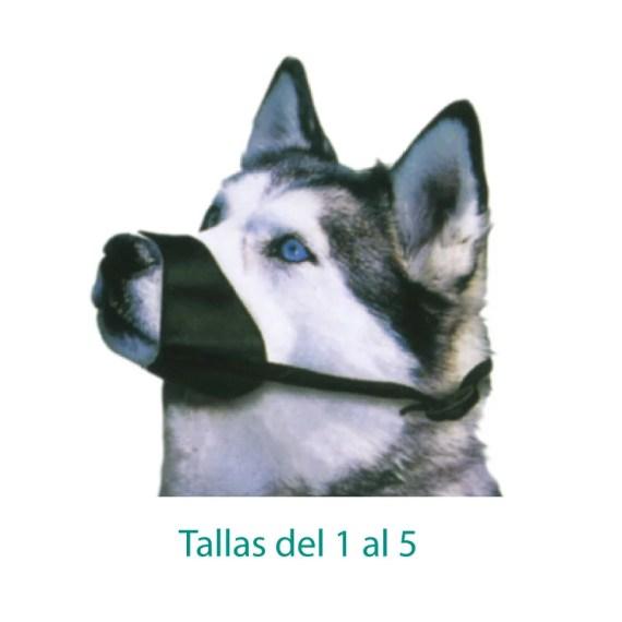bozal de tela nylon para perros en miraflores lima peru