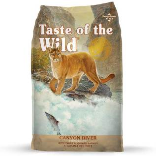 comida canyon river taste of the wild