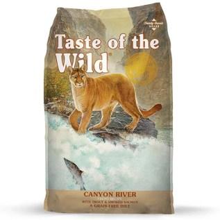 comida canyon river taste of the wild