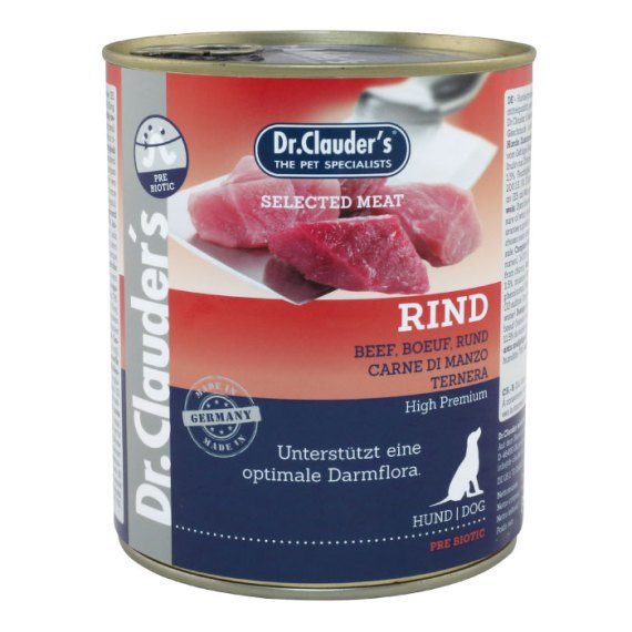 dr clauder's rind ternera comida humeda para perros lima peru