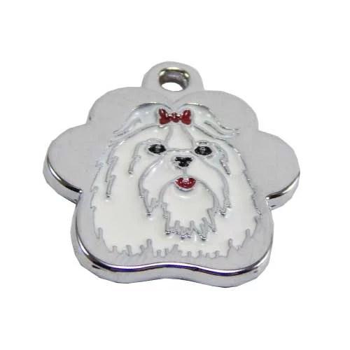 placas para perros maltes lima peru