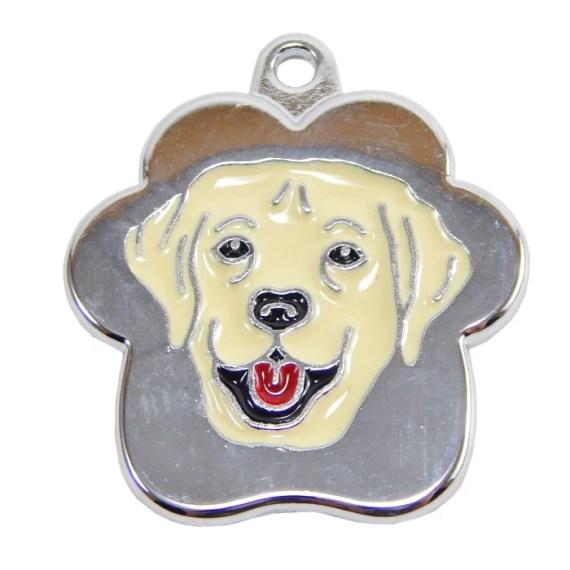 placa de identificacion para perros grabado peru lima labrador