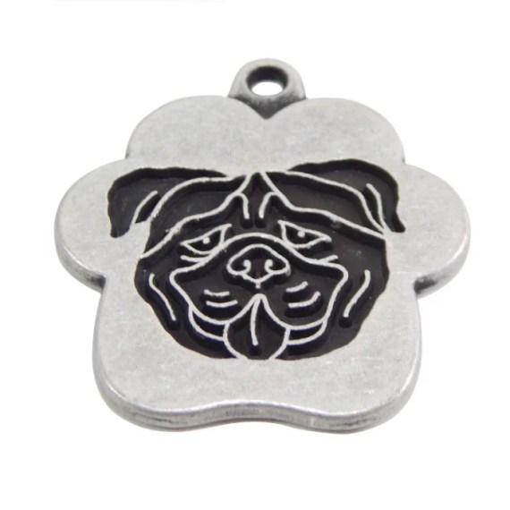 placa para perros bulldog ingles grabado peru