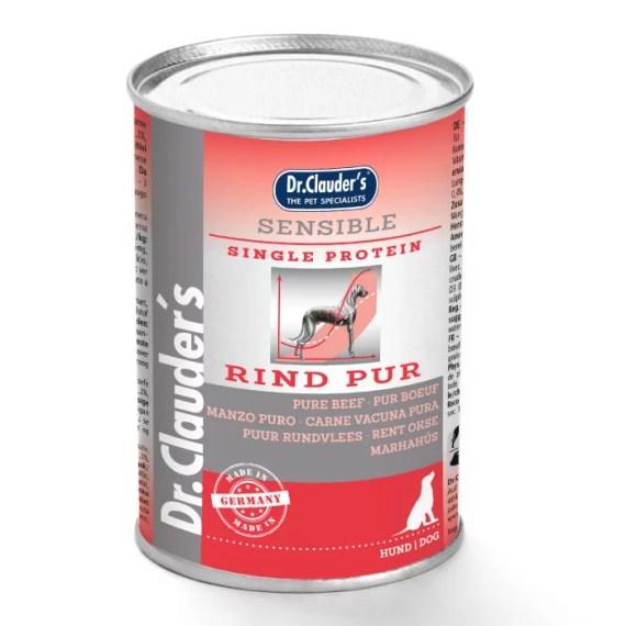 lata comida para perros dog food dr clauders sensible ternera lima peru beef