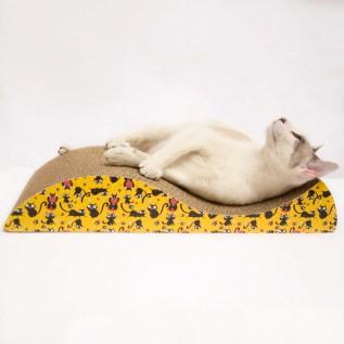 rascador para gatos de carton en miraflores surco lima peru