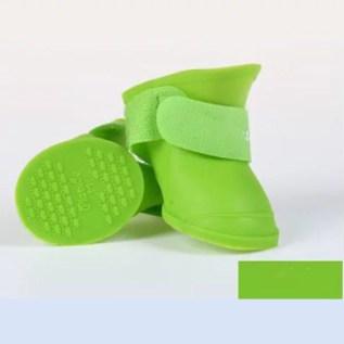 zapatos para perros de silicona
