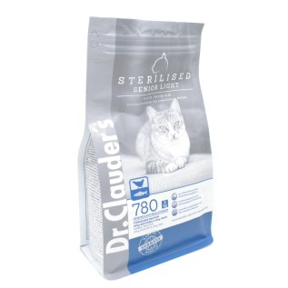 comida para gatos dr clauder's esterilizado sterilised senior light high premium en lima peru miraflores