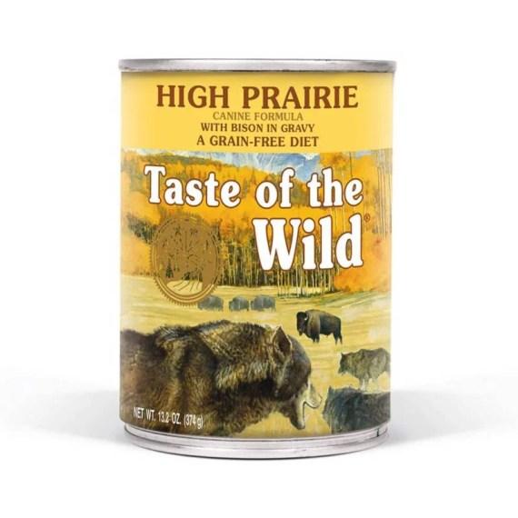 comida humeda para perros taste of the wild high prairie bisonte y venado para perros en lima peru