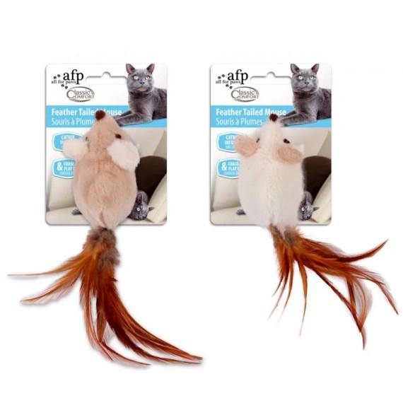 juguete para gatos en forma de raton de all for paws en miraflores lima peru