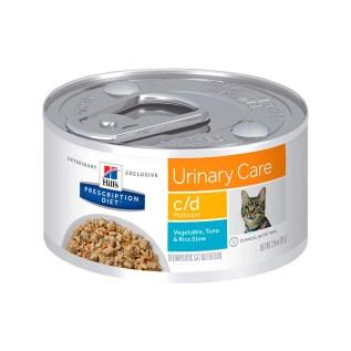 comida humeda para gatos hills cd lata