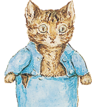 Tom Kitten from Beatrix Potter