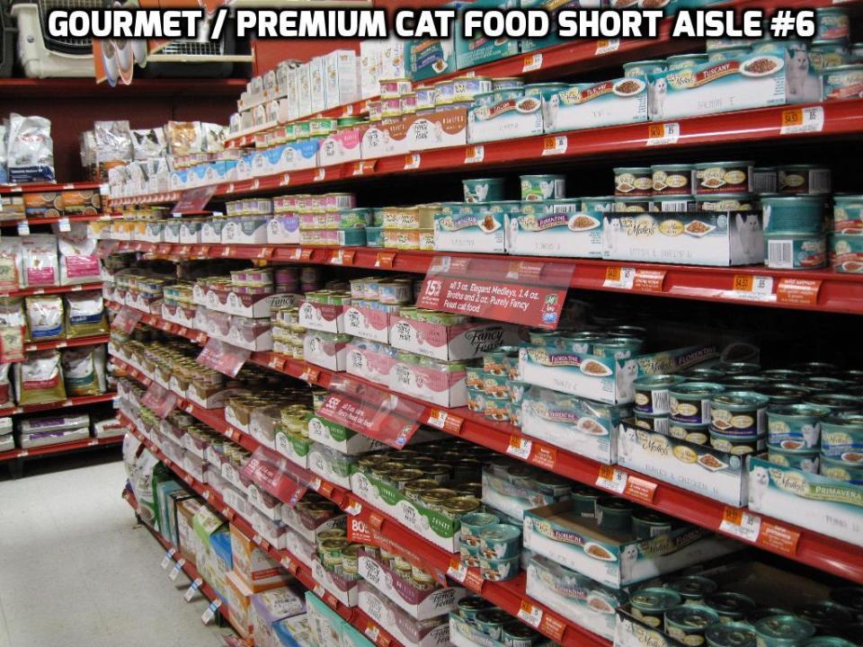 Cat food aisle