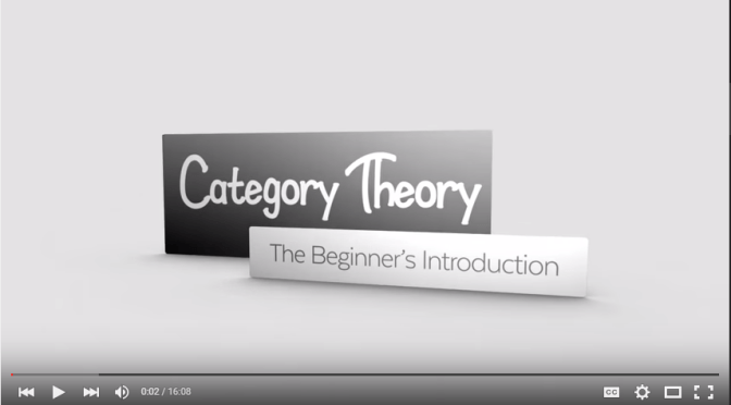 "Dr. Martin Codrington's ""Category Theory: The Beginner's Introduction"""